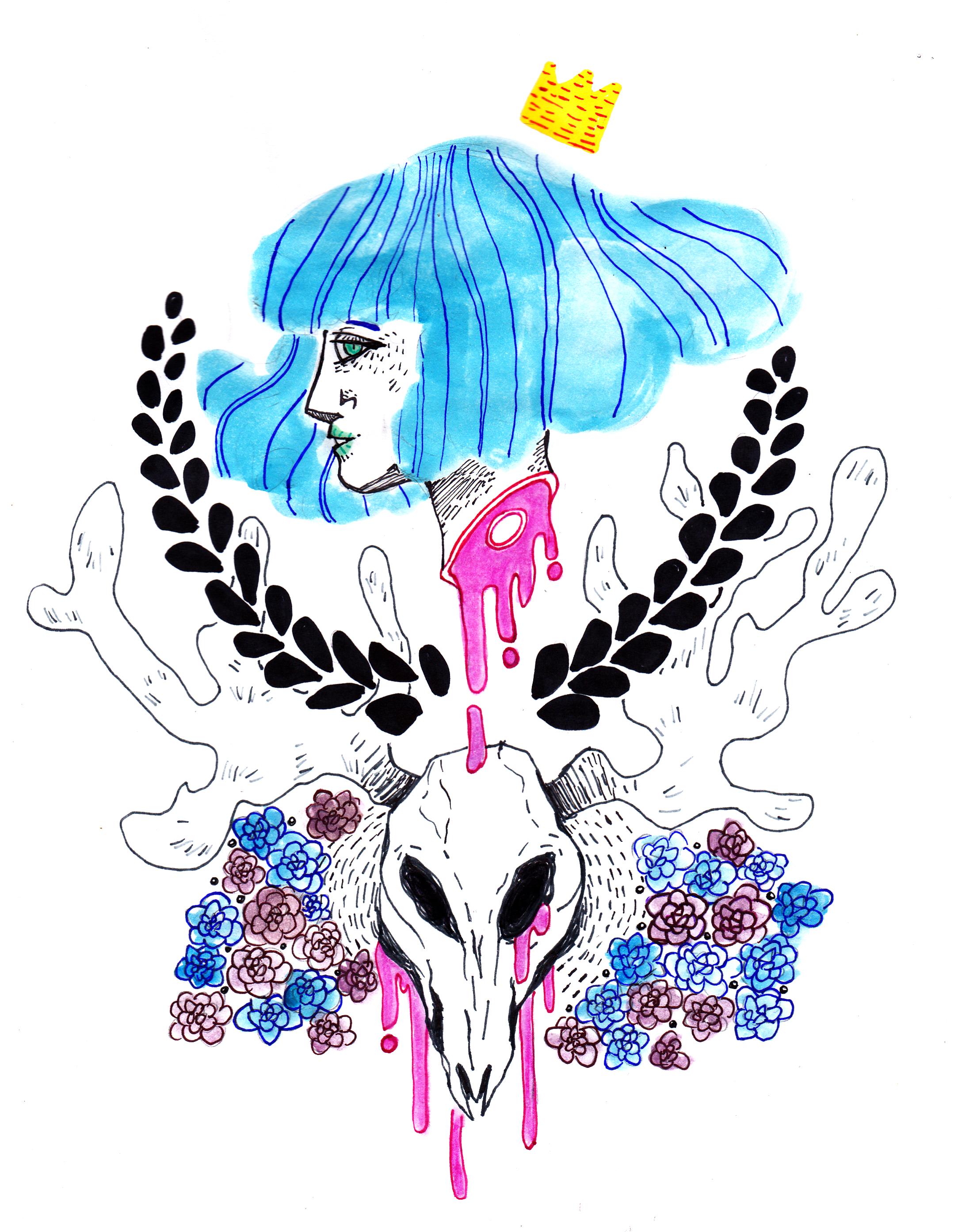 illustration, aesthetic