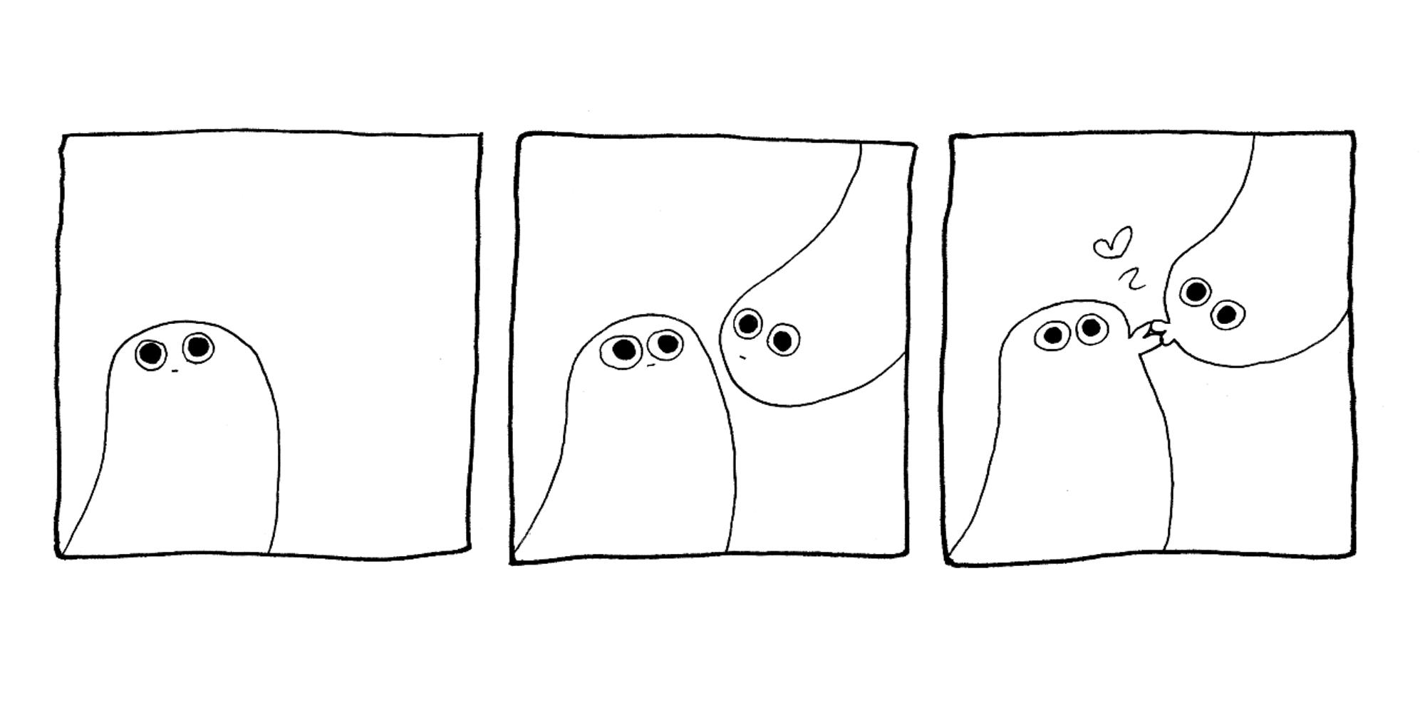 ghosts, comic, kiss