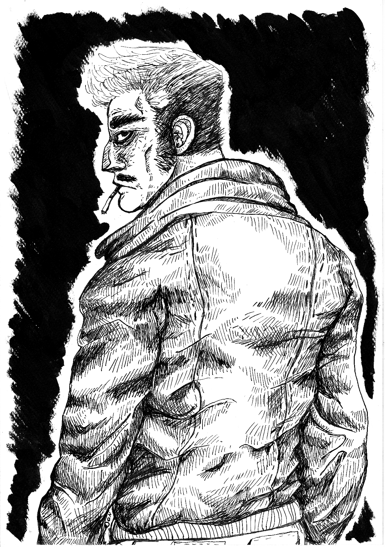 Inktober, illustration,