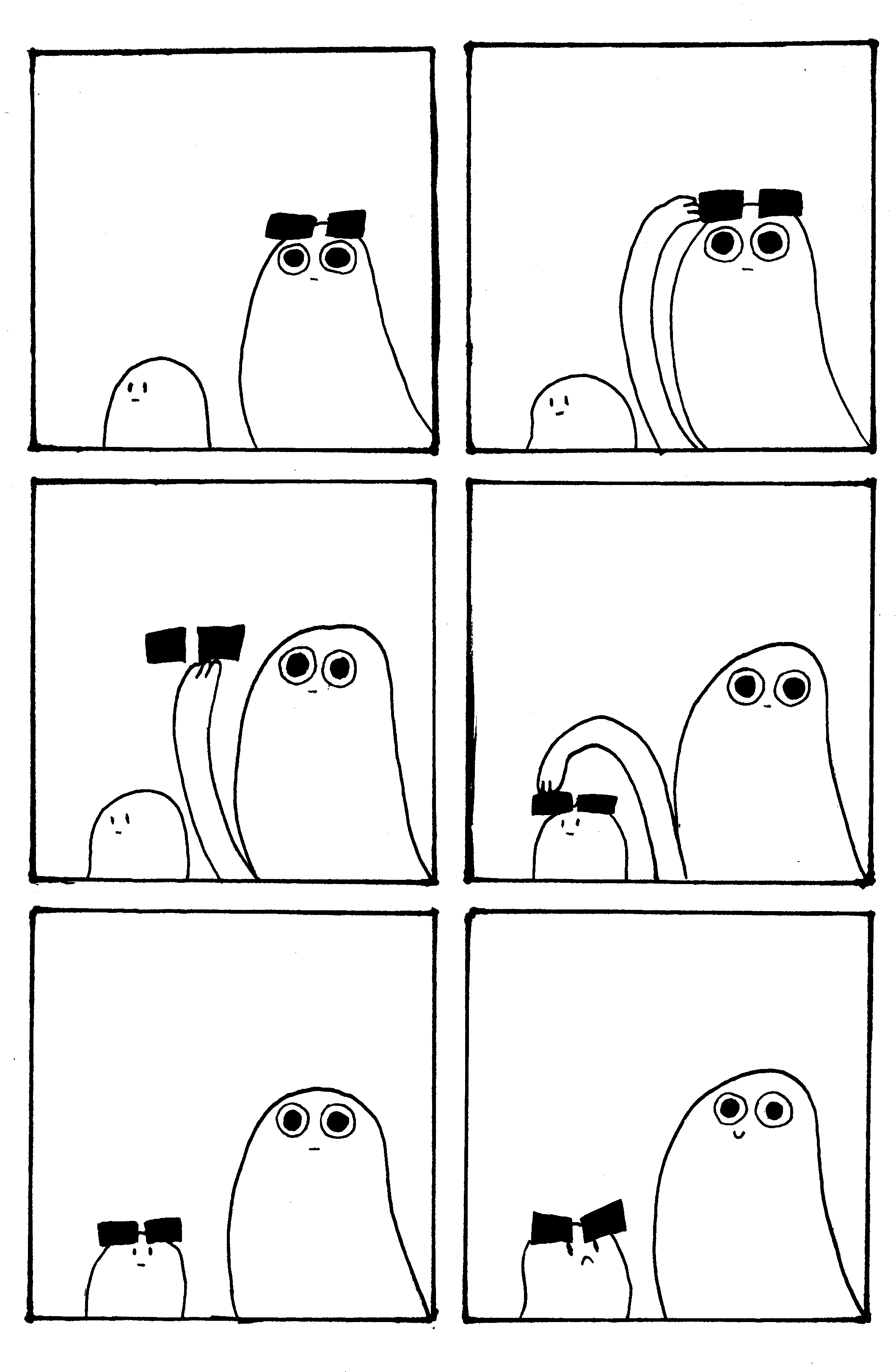 Ghosts, Comic, Shades
