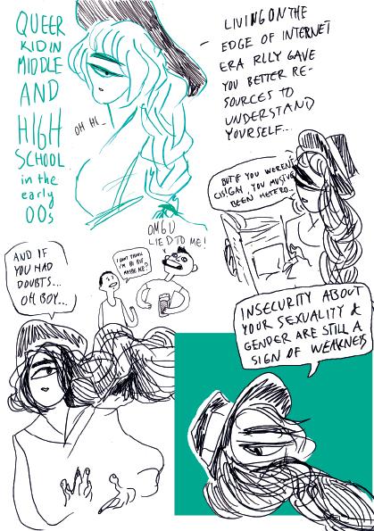 comic, queer, fear