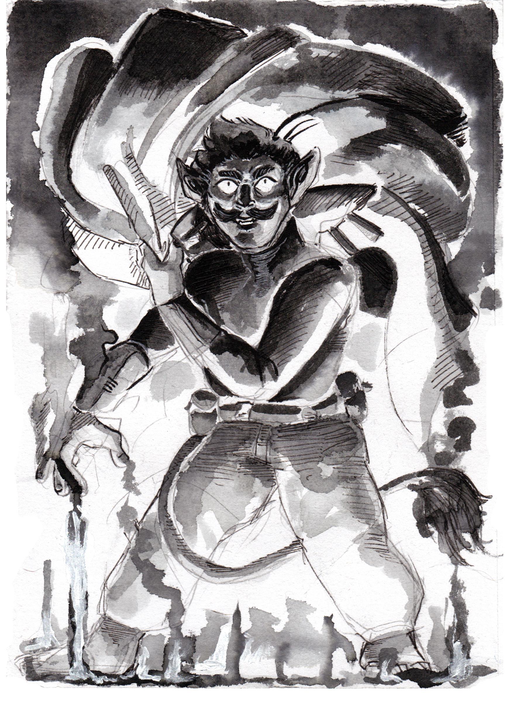 Inktober 2019, ink, illustration